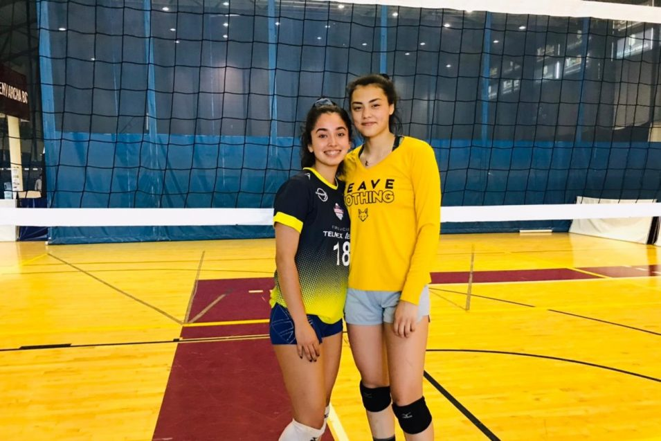 Jugadoras de Zorros Femenil, por un lugar en el Mundial Sub-18 de Voleibol