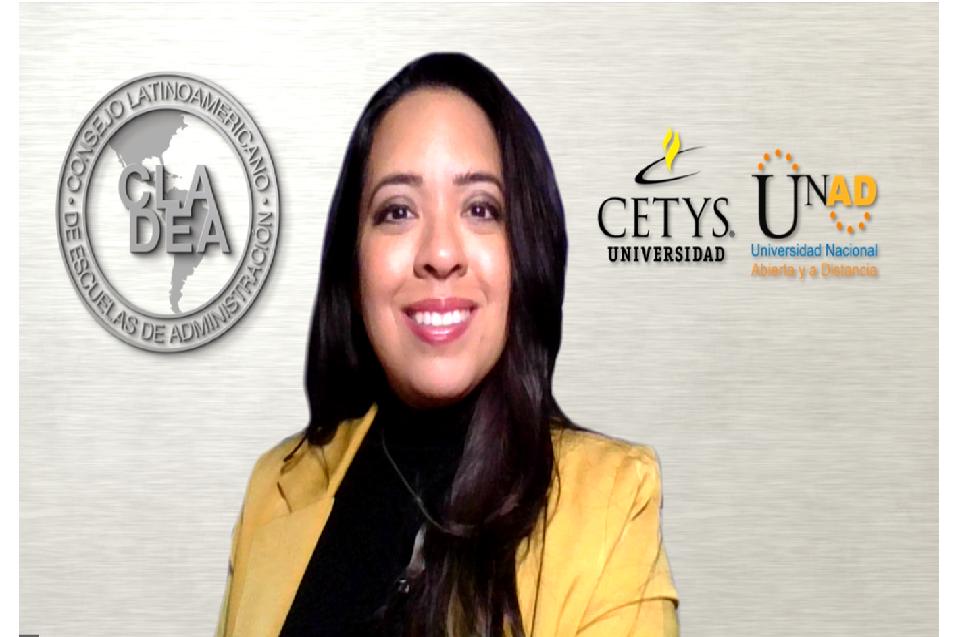Imparte clase magistral para alumnos de la UNAD de Colombia académica de CETYS