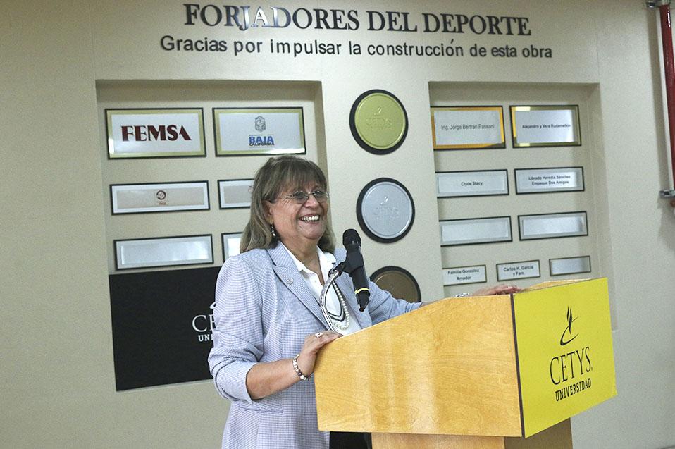 Margarita Ruiz Sandez, aliada permanente y forjadora de la educación y el deporte en CETYS