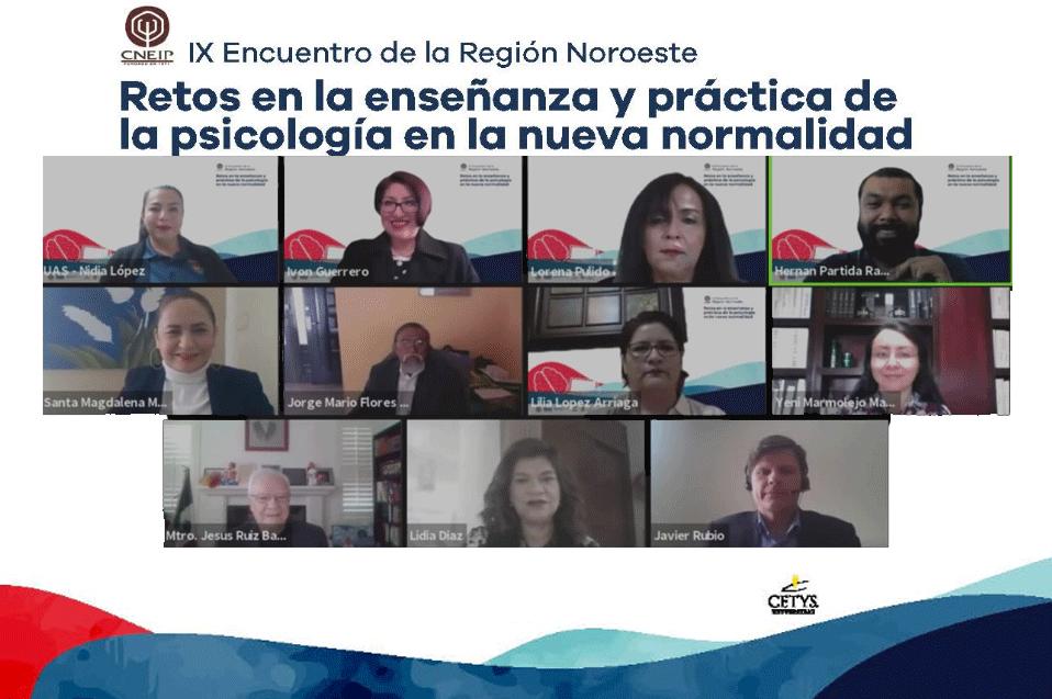 Destacan alumnos y docentes de Psicología en CETYS Tijuana en Encuentro Regional Noroeste del CNEIP