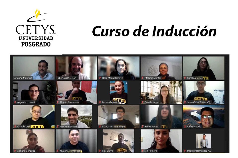 Nueva generación de Posgrado toma curso de Inducción en CETYS Tijuana