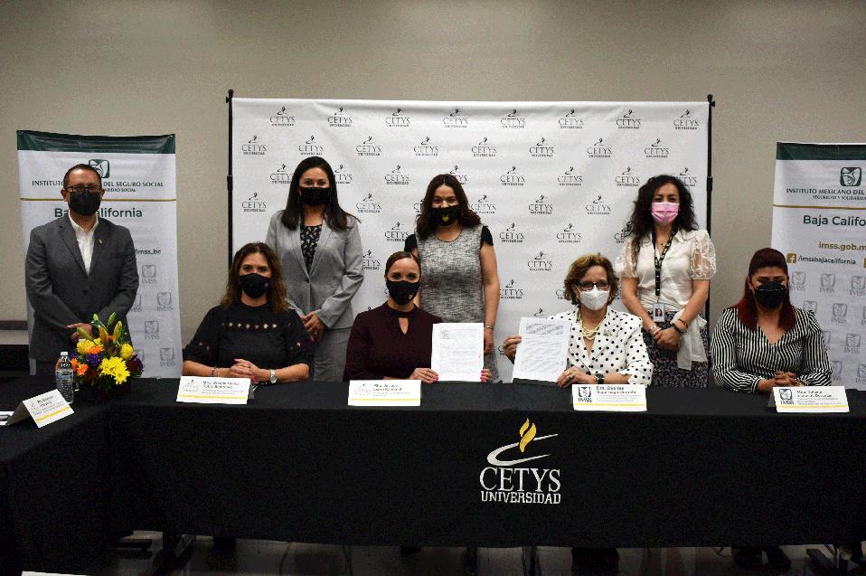 CETYS Universidad renovó su colaboración con IMSS BC