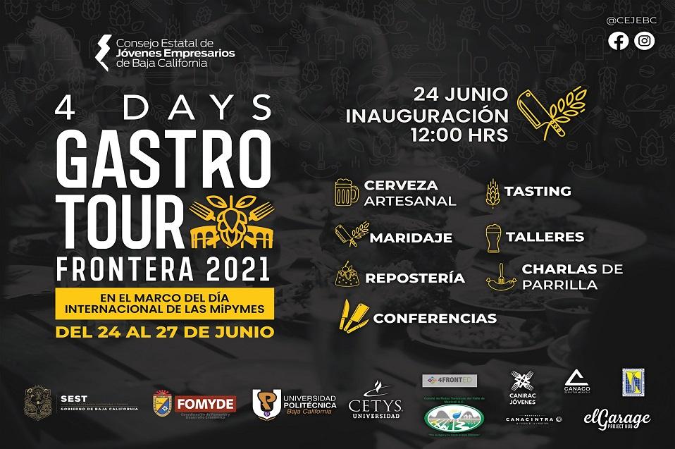 Participa CETYS en el 4 Days Gastro Tour Frontera 2021