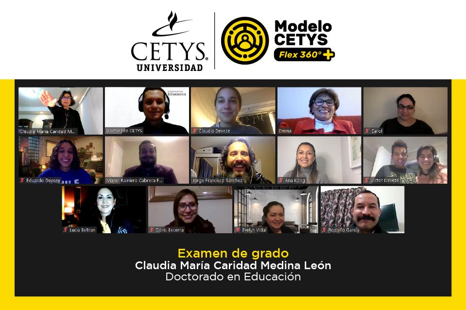 Académica de CETYS Ensenada obtiene el grado de Doctora en Educación