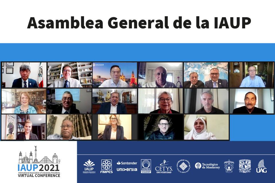 Designan a Fernando León García como Presidente de la IAUP