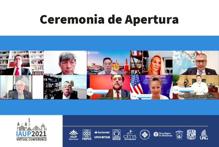 Da inicio la XIX Conferencia Virtual Trianual de la IAUP