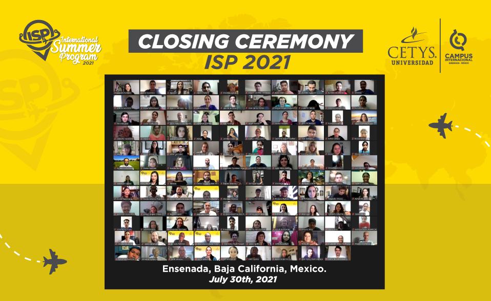 Virtualmente, más de 300 estudiantes y docentes de 19 países participaron en el CETYS International Summer Program 2021