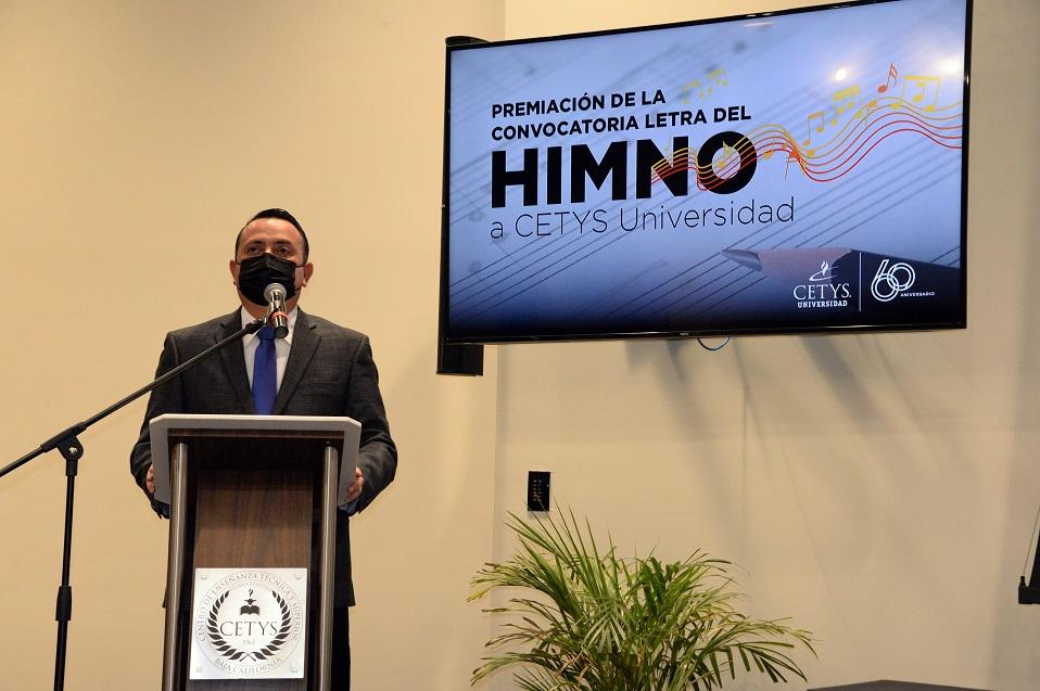 Gana el Mtro. Bardo Limón Félix convocatoria para la letra del Himno a CETYS Universidad