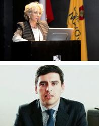 Clara Szczaranski y Mtro. Williams Valenzuela, Cátedras Distinguidas CETYS