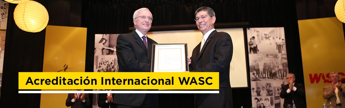 Acreditación Internacional WASC