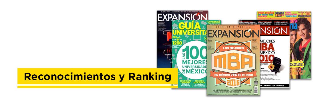 Reconocimientos y Ranking