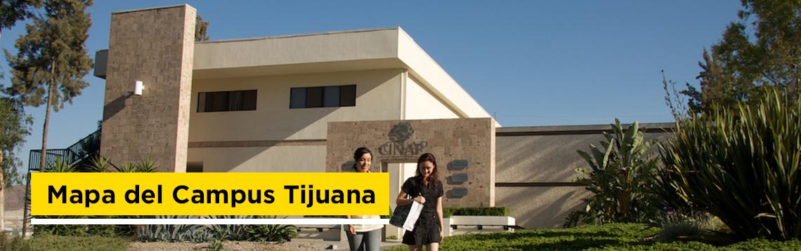 Mapa de CETYS Universidad Campus Tijuana