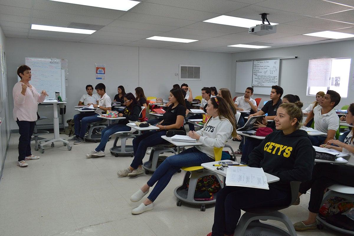 salón de clases preparatoria