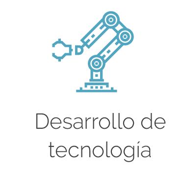 Logo y título de Desarrollo de tecnología
