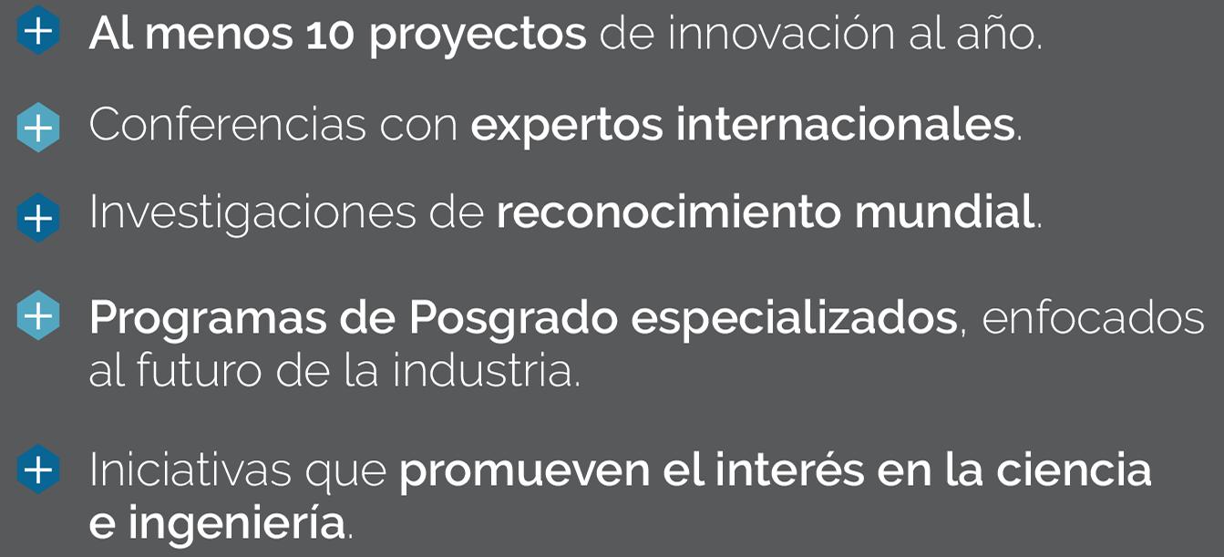 Recuento de proyectos y actividades del Centro de Innovación y Diseño