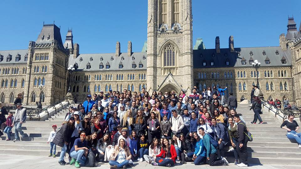 Estudantes de Prepa CETYS de viaje