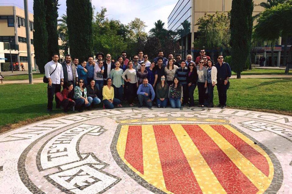 Alumnos del CETYS es España