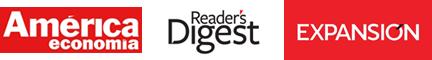 Logos América Economía, Expansión, Reader´s Digest